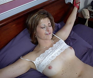 brunette bitch likes being tied up
