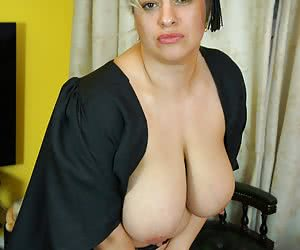 Hi Guys How do you think I look as Headmistress, Any of You naughty boys want to come to my Study for some of Mistress G