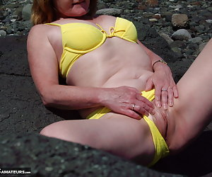 Went down to the beach on a hot summer day. I was in a naughty mood so  Got the camera out and took this photo set so yo