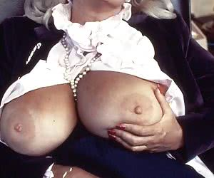 Candy Samples is a busty featured American exotic dancer, pin-up model and classic porn actress