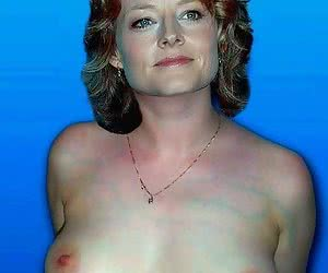 Jodie Foster is ready to show her naked tits and get facials at any age