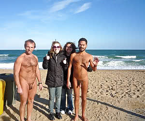 Fantastic Clothed Women and Naked Guys galery