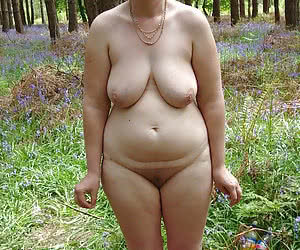 Funny and chubby young nudist girls