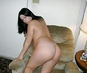 Chubby latina showing off her holes ready for fuck shots