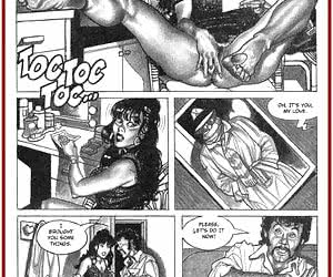 Scenes wiped out of the porn comics
