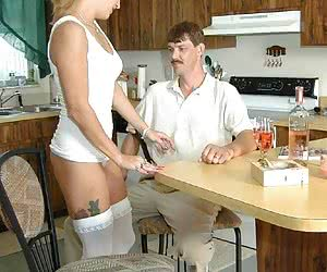 The horniest of ladies and their pervert lovers fuck hard