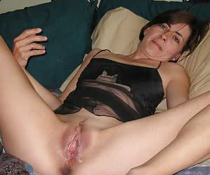 Anal and vaginal creampie set