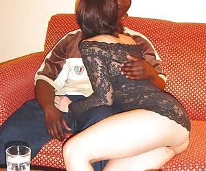 Unleashed amateur cuckoldry fucking with an interracial twist