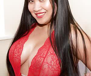 How do you all like my Red Lingerie. Do you think it looks sexy, its certainly a nice tight fit and shows off my big boo