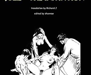 New fresh slave-girl in the comics `Julie - The Initiation`