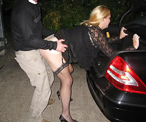 Fat mature housewives fucked in night after some driving