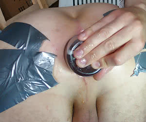 Anal fisting one of my ExBF series