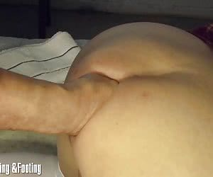Machine fuck and lesser sex toys for her