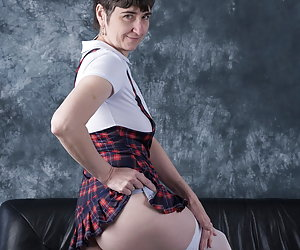 Desired images in a special outfit.But do I really look like a SchoolgirlOr rather like an adult Milf