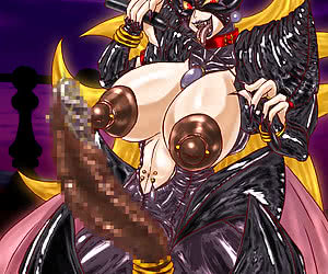 Fuckin hot and all very beautiful drawn chicks pose, play with toys and fuck on hot latex manga.