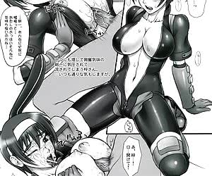 You should see how gorgeous toon babes in tight-fitting latex uniforms pose on latex anime pictures.