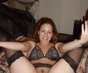 Teen with sexy lingerie gellery