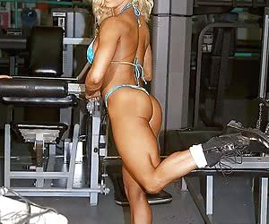 All hot muscle models, gymnasts, contortionists - natural.