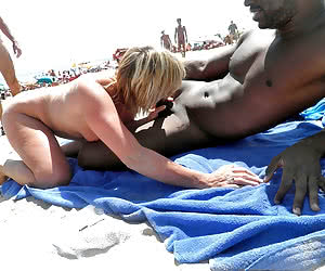 Perfect babes sunbathes nude on the beach
