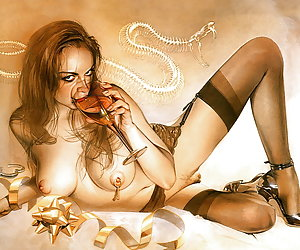 Pinup Erotic Ilustrations