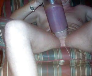 cock and ball pumping