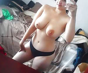 Sexy amateur chicks flaunt their fine juggs