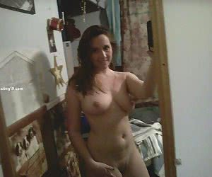Brother's girlfriend from topless to naked