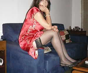 Nice babe In Stockings gall