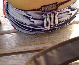 Nasty amateur pictures of ordinary girls in sexy strings