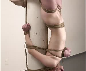 women in painful tit torture