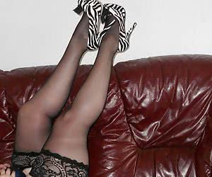 I just love cfm shoes and these are particulalry awesome zebra print ones. Made me feel very very horny wearing these.