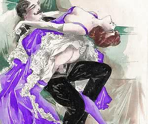 Beautiful and luxury old fashioned porn is for vintage sex comics.