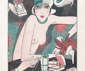 Hot old fashioned vintage sex cartoon makes many artists follow its style.