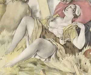 Lots of hardcore and outdoor sex waits in vintage porn cartoon.