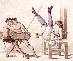 Lots of punishment and hardcore sex were all right for vintage porn drawings.