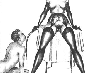Lusty brunette sluts and ancient sex queens are posing for these vintage erotic cartoons.