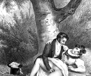 Vintage sex cartoons describe a beautiful story about hardcore sex.