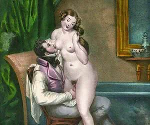 Wild outdoor sex is presented in retro porn drawings.