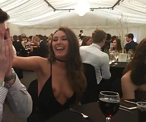 One Tit Out