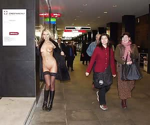 Showing Off Outside And Public